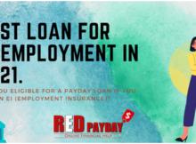 Best loan for unemployment EI Redpayday