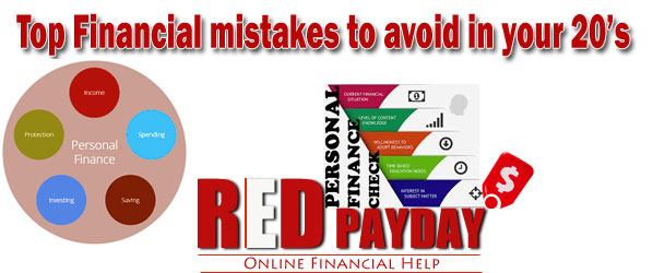 Top Financial mistakes to avoid in your 20s Redpayday