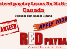 guaranteed payday loans no matter what canada RedPayday