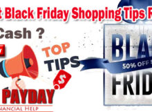 Top Secret Black Friday Shopping Tips Revealed - Cash Loans - RedPayday